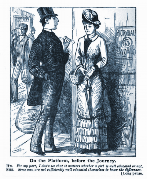 From Charles H. Ross et al, Ally Sloper's Sentimental Journey (London, 1882).
