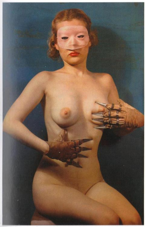 Paul Outerbridge - Woman with Claws, 1937. … from Paul Outerbridge: Command Performance, Getty Publications, 2009.