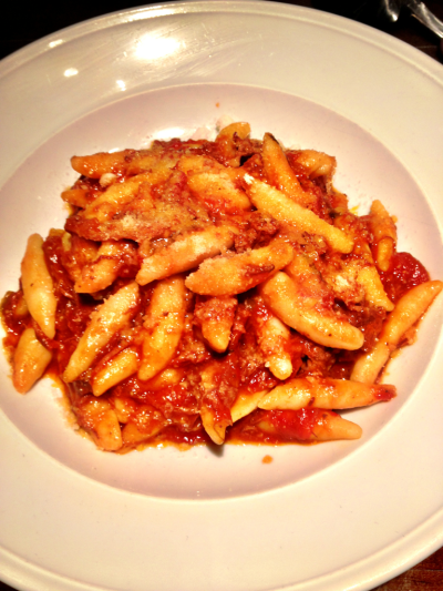 Gnocchi with a wild boar ragu