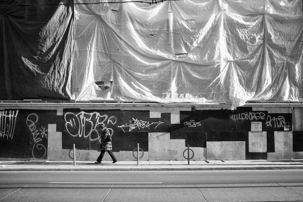 #184: 3-4-2012 - Construction Hoarding, Toronto