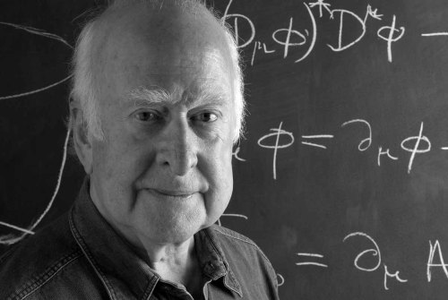 quantumaniac:  Peter Higgs Born on May 29th, 1929 - Peter Higgs is best known for his proposal of the Higgs mechanism. Currently he serves as Professor emeritus at the University of Edinburgh. Higgs' proposal says that particles were massless when the universe began, and acquired mass a fraction of a second later when interacting with the so-called Higgs field. He postulated that this field permeates all of space, and gives all elementary subatomic particles that interact with it their mass. The Higgs field is thought to interact and cause all of the mass in quarks and leptons, but only causes a tiny portion of the masses of other subatomic particles, such as protons and neutrons. In these larger particles, gluons that bind the quarks together to form them create most of the mass.