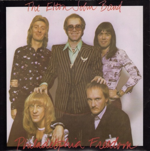 THIS DAY IN MUSIC…  1975, Elton John started a two week run at No.1 on the US singles chart with 'Philadelphia Freedom', his fourth US No.1, it made No.12 in the UK.
