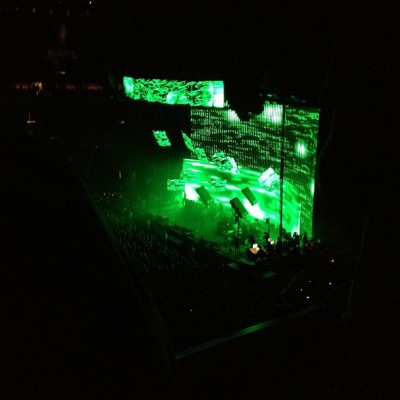 Radiohead Key Arena, Seattle, WA (Taken with instagram)