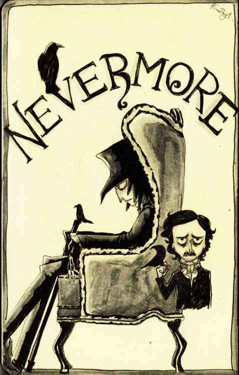 quienesesachica:  Nevermore by Timothy