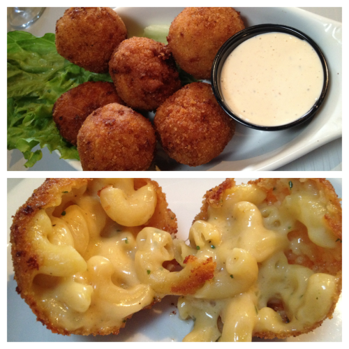 Slaters 50/50- San Diego, CA (Liberty Station)  Panko Fried Mac & Cheese Balls