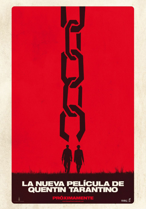 First teaser poster from Quentin Tarantino's next movie Django Unchained