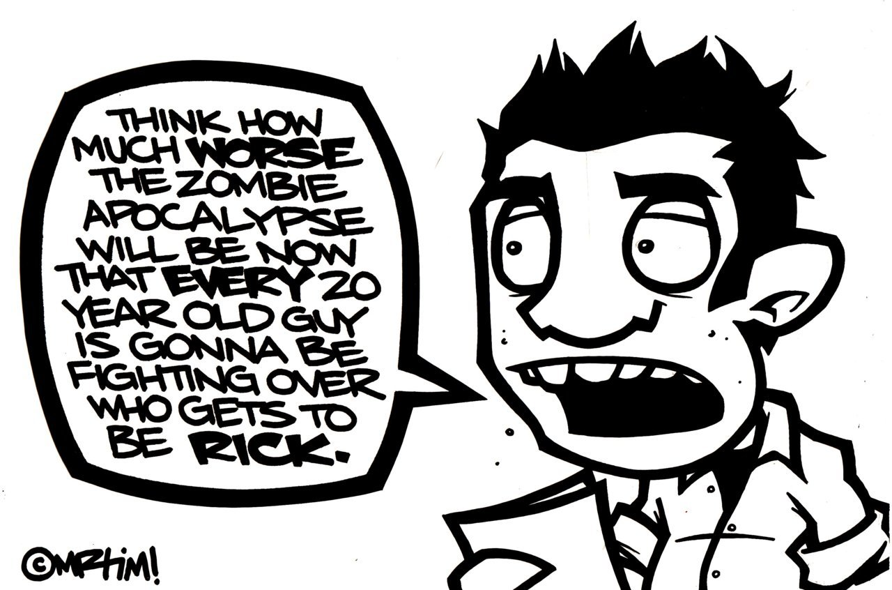 A realization while discussing zombies…