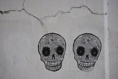 Pasted Skulls by chris.huggins on Flickr.