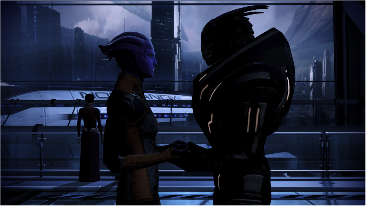 Love. Mass Effect 3 JTGP Do not reuse unless given accreditation to JTGP.
