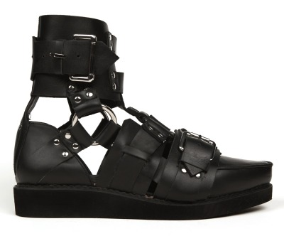 [KTZ Harness Sandal][Retail: $575.00][Available at Opening Ceremony] These sandals are the absolute truth…