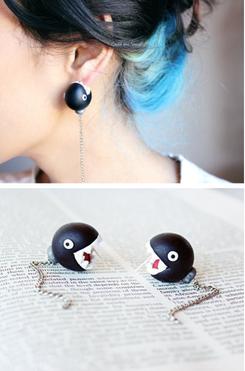 Chain Chomp Earrings!!!!