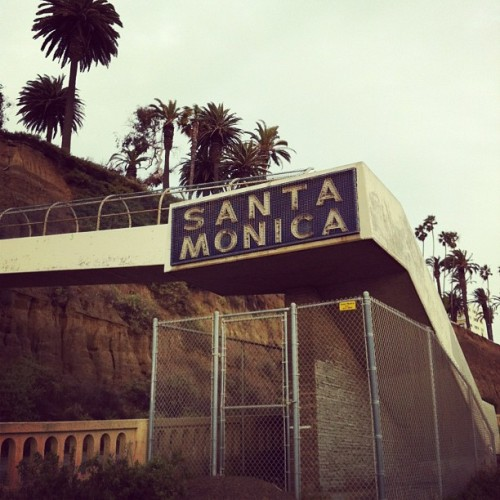 Enough said. #santamonica #california #cali  (Taken with Instagram at California Incline)