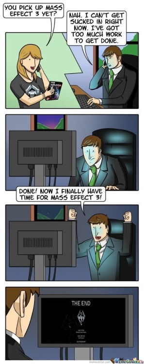memecenterz:  No Time For Mass Effect 3