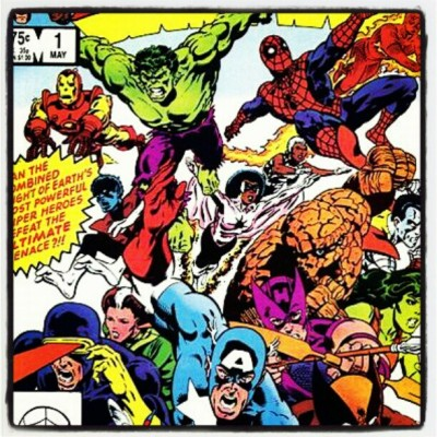 OG comics #comics, #marvel, #captainamerica, #hulk, #spiderman, #xmen, #art, #retro, #classic, #original, #unique, #wow,  (Taken with instagram)