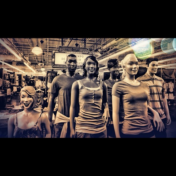 my co-workers #oldnavy #work (Taken with instagram)