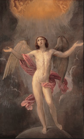 Angel image of the day. mesbeauxarts:  Guido Reni. Blessed Soul. 1640-1642. Oil on canvas. Musei Capitolini. Roma, Italia.