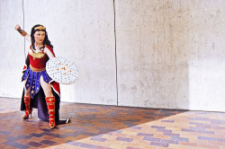herochan:  Wonder Woman Cosplay @Anime Boston Image by Nate Buchman