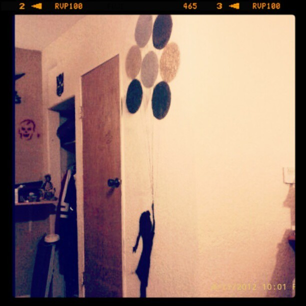 I wish had more time to do art on my walls. #art #nextup #charlie Chaplin  (Taken with instagram)
