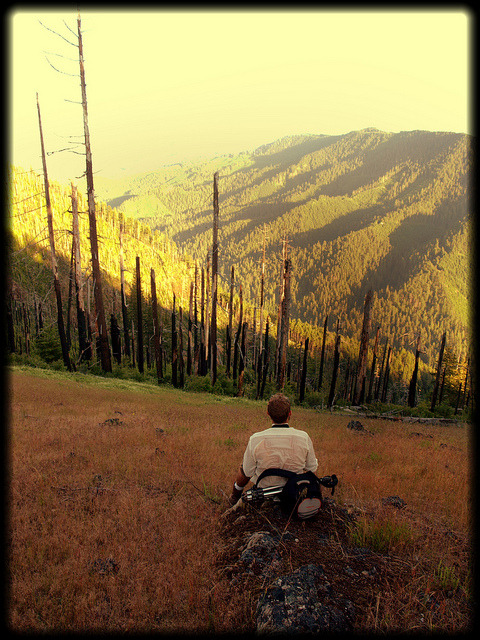 Relaxing on a Summit, Waldo Lake Wilderness, Oregon on Flickr.bjs '11