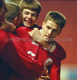 Young Gerrard and Owen
