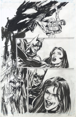 Batman 12 Interior Art by *NealAdams Batman #12 interior art, featuring Batman and Talia al Ghul. (I'm still spruiking that Neal Adams is on Deviantart!)