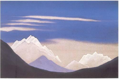 Himalayas by Nikolas Roerich