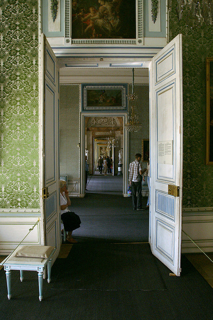 Kuskovo Palace. Enfilade by elephantr on Flickr.