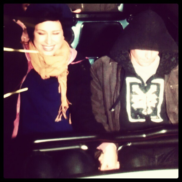Space mountain happiness (Taken with instagram)