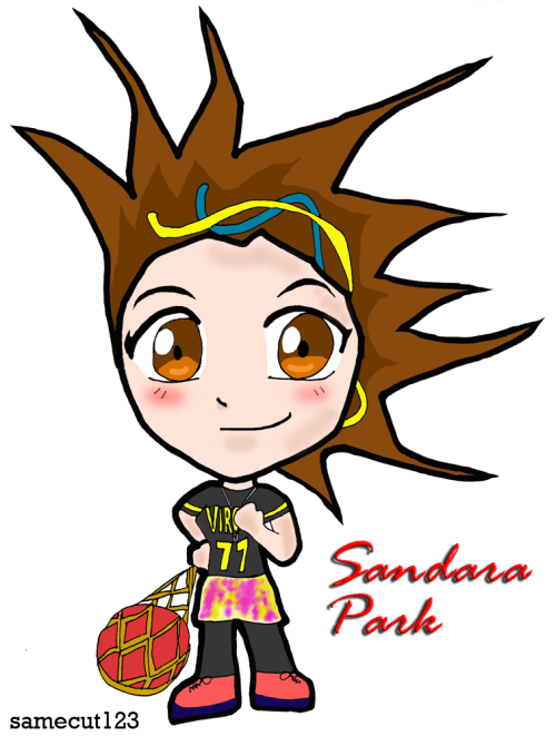 120313 Sandara Park - Scream Chibi Version