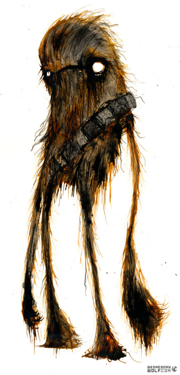 pacalin:  Chewie Created by WednesdayWolf