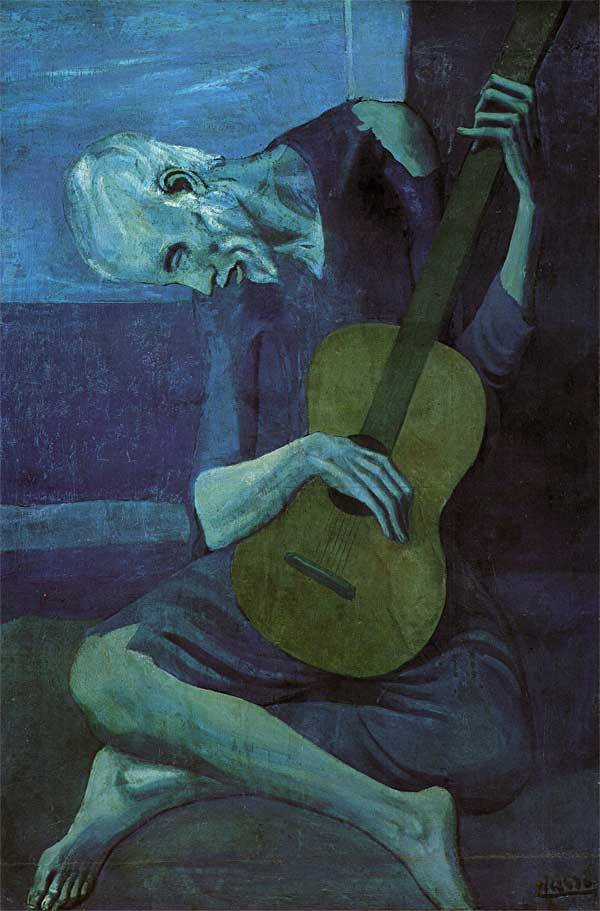 Pablo Picasso, The Old Guitarist
