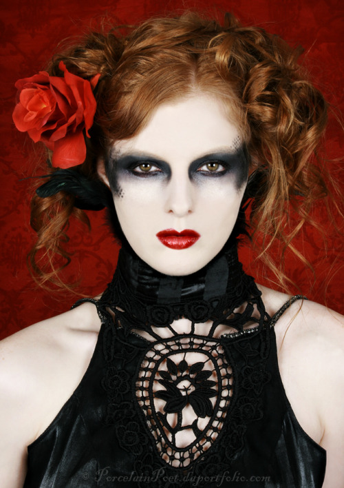Photography & Makeup by PorcelainPoetModel is Shaun TiaDress by Black Lotus ClothingFeatured in Gaunt Magazine, Issue 2