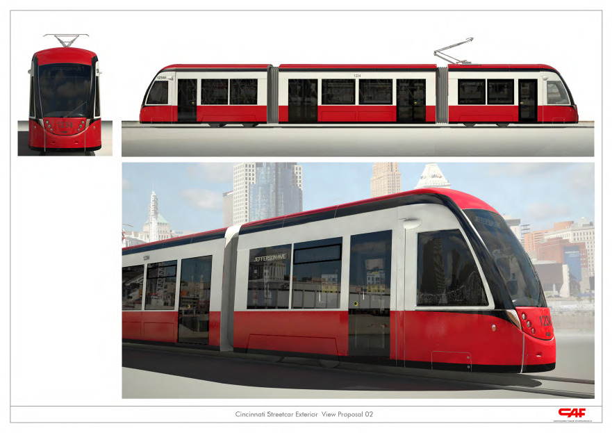 Cincinnati Streetcar Design choices - more at the OTR blog