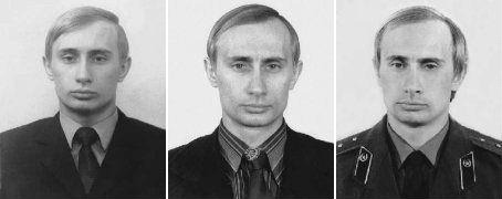 "pisatofevrale:  gumfruit:  thesqr:      FP Passport (USA): Putin supports new term limits…for the next guy Vladimir Putin says he wouldn't mind amending Russia's constitution to prevent future presidents from doing what he did — returning to the presidency for a non-consecutive third term:    On Wednesday, during a Q&A session in Parliament, Putin said it would be ""reasonable"" to remove the mention of consecutive terms. But he added that this would not affect him because such a legislation cannot be retroactive — implying that his third term would considered his first term under the new law.   ""Once it's passed, I will have a chance to work for the next two terms. There's no problem here,"" he said in televised remarks.    Now he tells us.        what a bitch  ""There's no problem here,"""