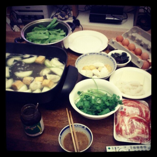 Hotpot weather  (Taken with instagram)