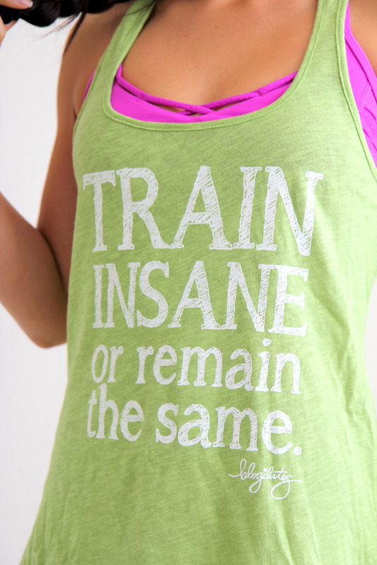 TRAIN INSANE OR REMAIN THE SAME. Get it here.