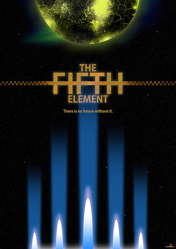 loveisjustanotherrhyme:  Still a fav. minimalmovieposters:  The Fifth Element by Jason W Stanley