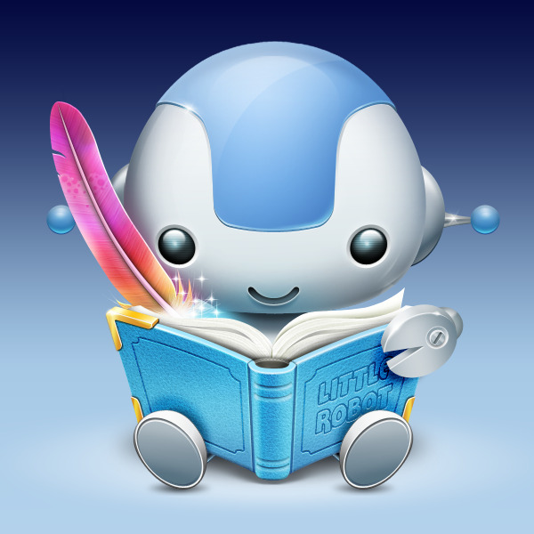"My latest Project ""Storybuilder"" OSX IconYou can request an invite at www.littlerobot.comAlso dont forget to like it on dribbble"