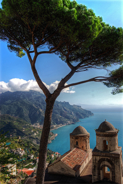 | ♕ |  View of Ravello - Campania, Italy  | by © Atilla2008