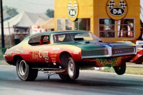 Don & Roy Gay Pontiac GTO Funny Car