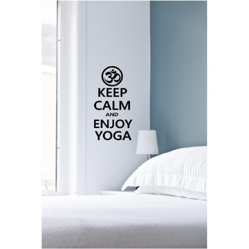 Keep Calm and Enjoy Yoga - Wall Art