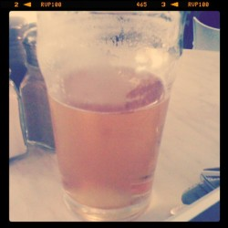 Half full at the London.  (Taken with Instagram at The London Burgers & Beers)