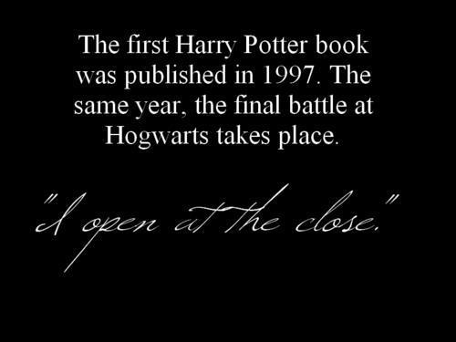 You guys. The Battle of Hogwarts was May 2, 1998. Duh. Jeez.