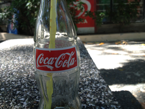 Nothing beats cold Coke on a hot summer day!  (c) Cinta Posadas