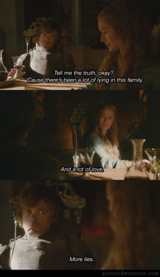 arrestedwesteros:  Michael: Tell me the truth, okay? 'Cause there's been a lot of lying in this family. Lucille: And a lot of love. Michael: More lies. Let 'Em Eat Cake - 1x22 This is one of those submissions that lost credit - let me know if you created it!