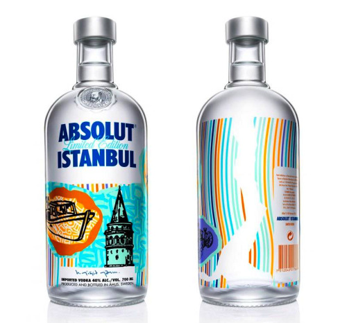 istanbul - limited edition absolut bottle
