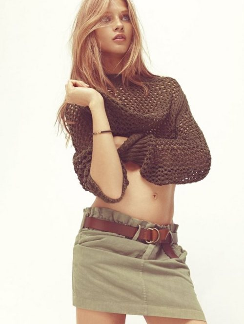 Anna Selezneva for Isabel Marant Etoile Spring 2012 Catalogue (via positivelynoteworthy) You will also like: your lines.