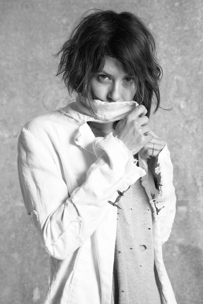 Kate Moennig for Greg Lauren 2012