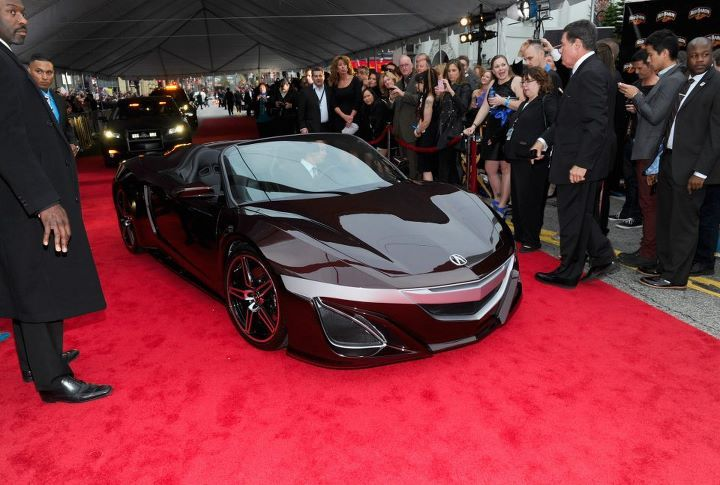 shaken-not-stirred-:  Tony's Acura at the red carpet world premiere of Marvel's The Avengers!
