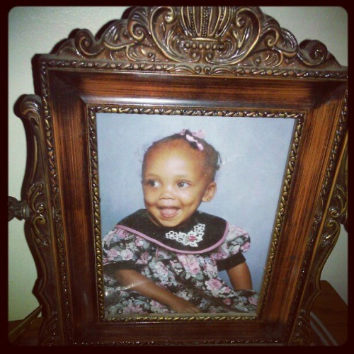 I was such a cute baby :) (Taken with instagram)